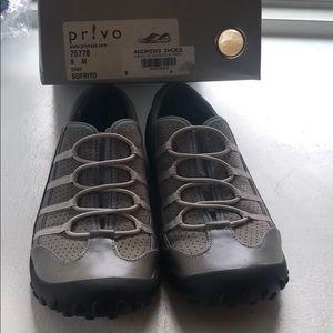 Privo Grey Slip on Sneakers